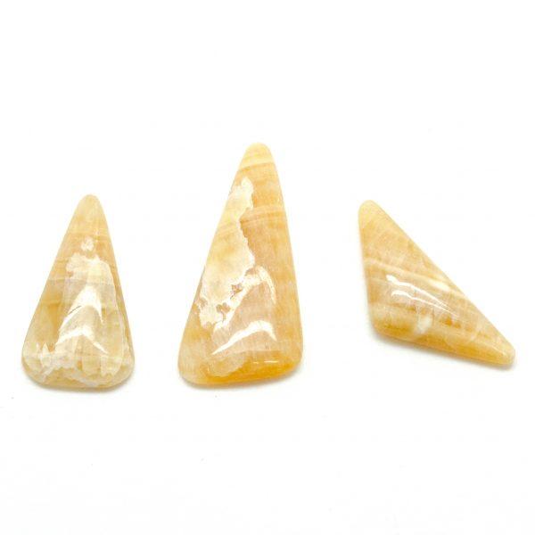 Honey Calcite Cabochon Set-75585