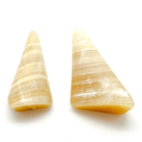Honey Calcite Cabochon Set-75677