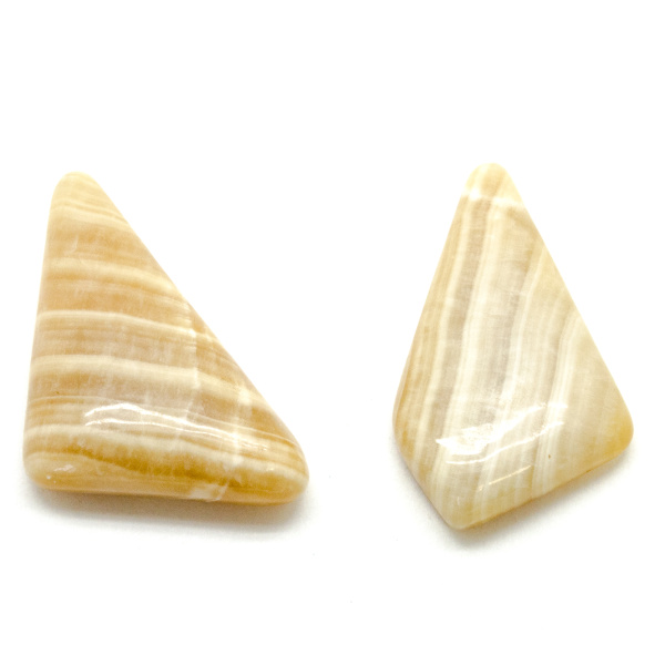 Honey Calcite Cabochon Set-75675