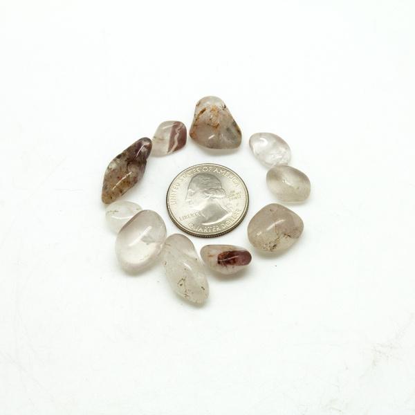 Lithium Quartz Tumbled Stone Set-75499