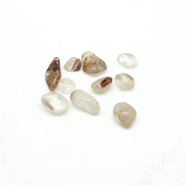 Lithium Quartz Tumbled Stone Set-0