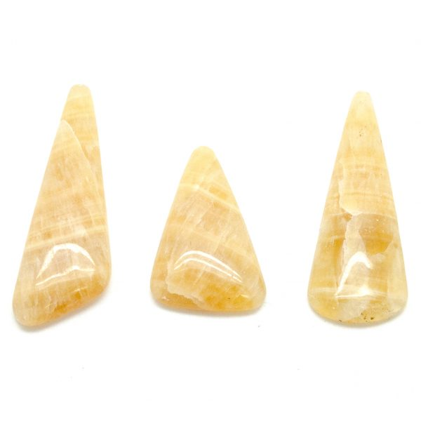 Honey Calcite Cabochon Set-75533