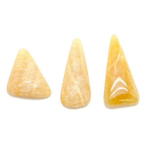 Honey Calcite Cabochon Set-75531