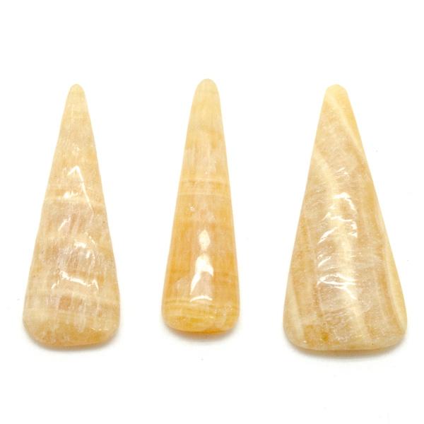 Honey Calcite Cabochon Set-75657