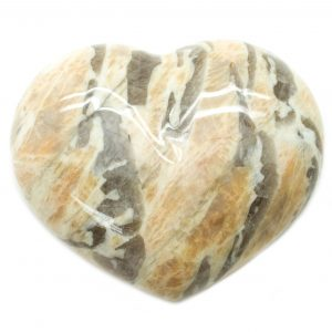 Zebradorite Heart-0