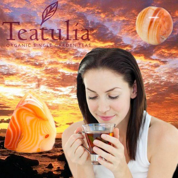 Carnelian Crystal Tea - Set of 12 Teabags-80525