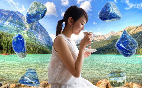 Lapis Lazuli Crystal Tea - Set of 12 Teabags-78901