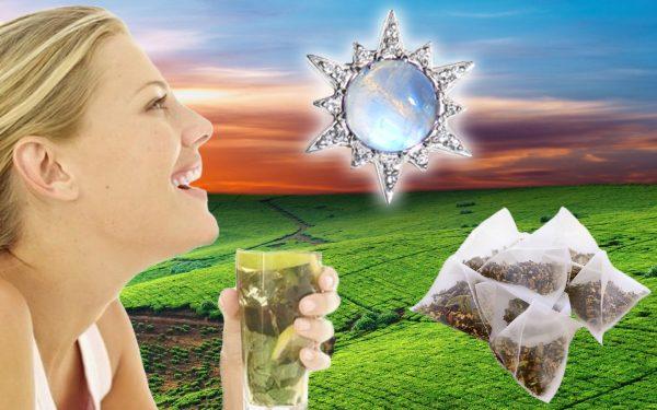 Moonstone Crystal Tea - Set of 12 Teabags-78899