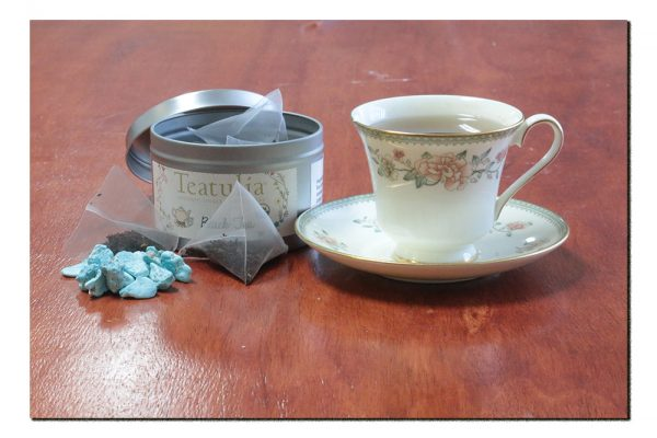Turquoise Crystal Tea - Set of 12 Teabags-0