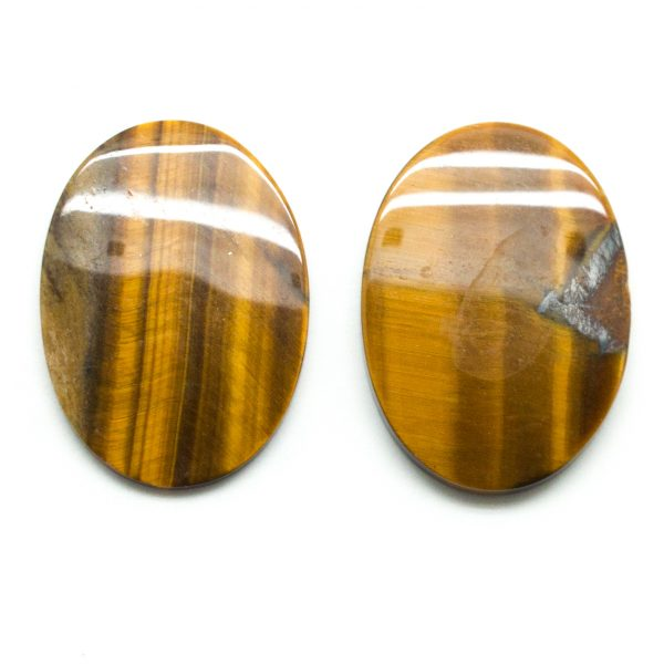 Tiger's Eye Oval Cabochon Pair-79146