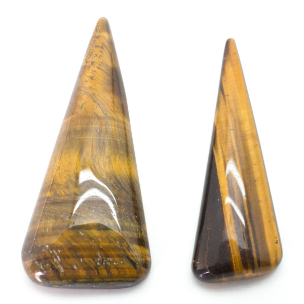 Tiger's Eye Freeform Cabochon Pair-79633