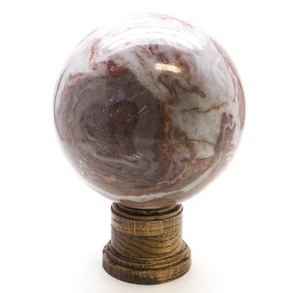 Red Jasper Sphere-77857