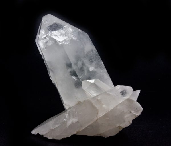 Nepal Isis Cross Quartz Cluster with Chisel-0