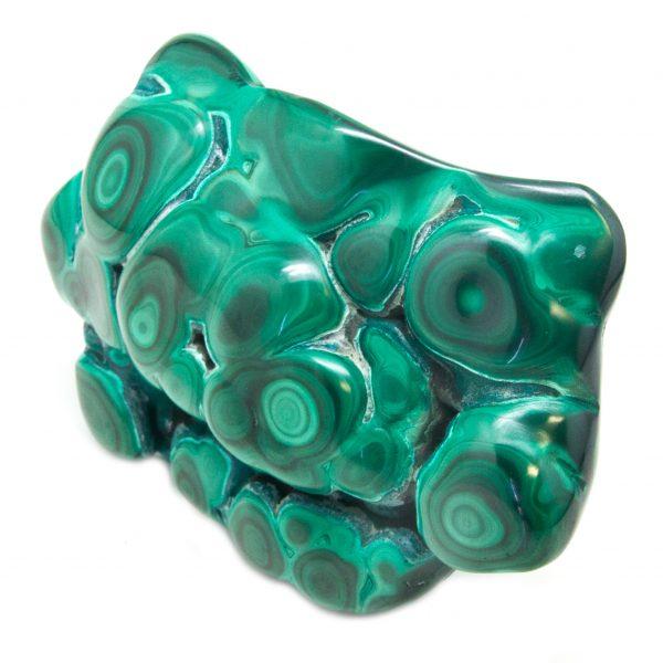 Polished Malachite Crystal-83725