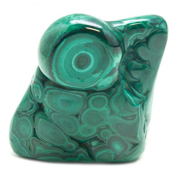 Polished Malachite Crystal-0