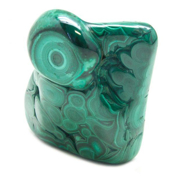 Polished Malachite Crystal-83750