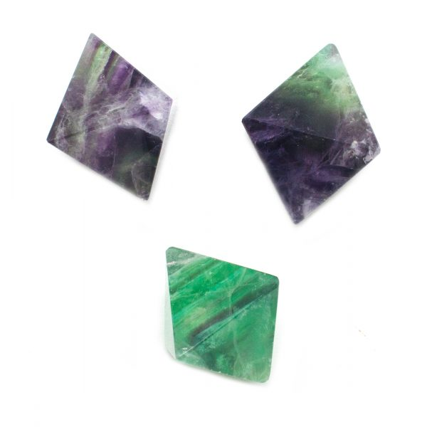 Fluorite Octohedron-116505