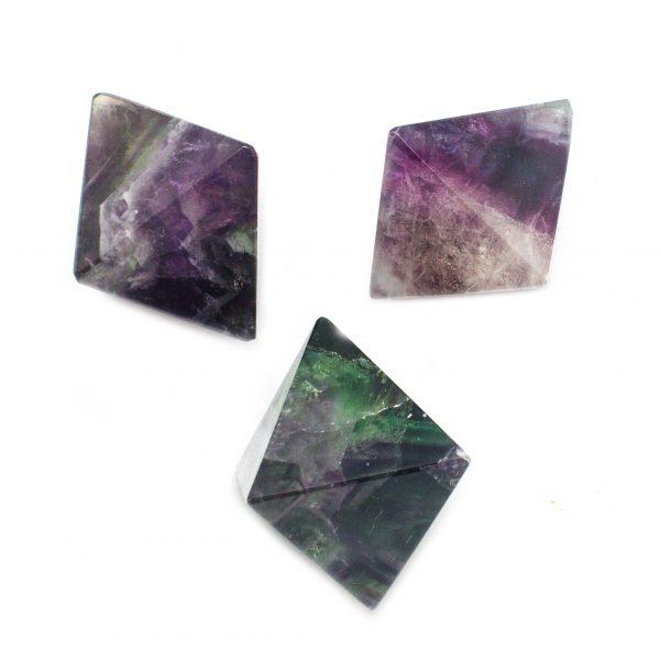 Fluorite Octohedron-116506