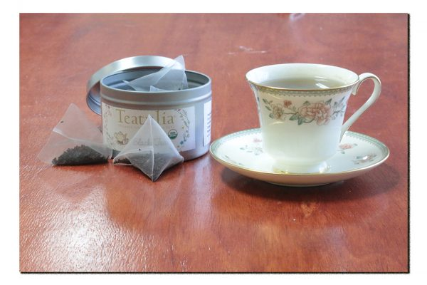 Moldavite, Green Aventurine, & Quartz Tea for Good Fortune-150378