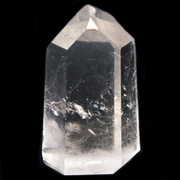 Polished Isis Quartz Point with Timeline to the Past-84746