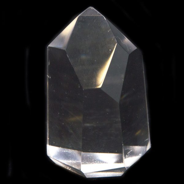 Polished Channeling Quartz Point Pair with Timeline to the Future-84794