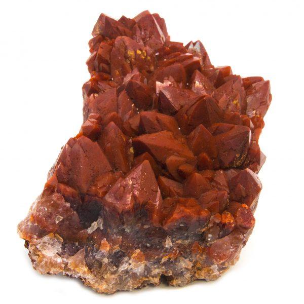 Red Quartz Cluster-85262