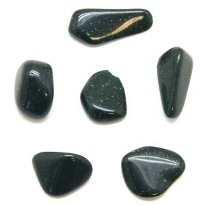 Green Goldstone Tumbled Stone Set (Small)-0