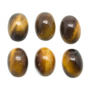 Tiger's Eye Oval Cabochon Set-0