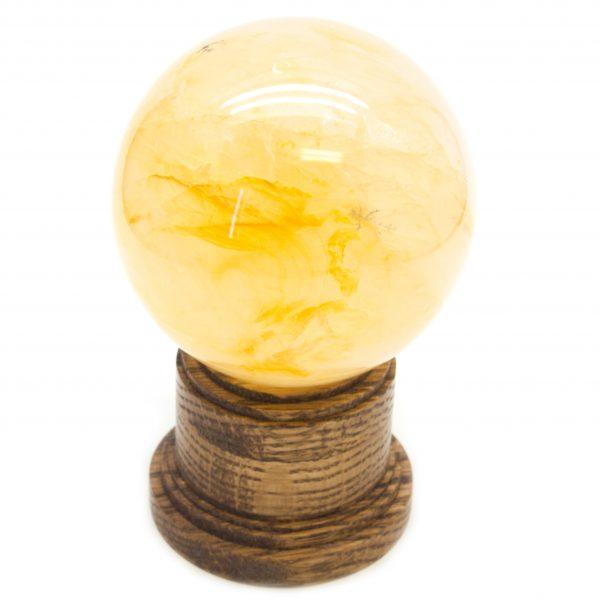 Golden Healer Lemurian Sphere(70-80mm)-86541