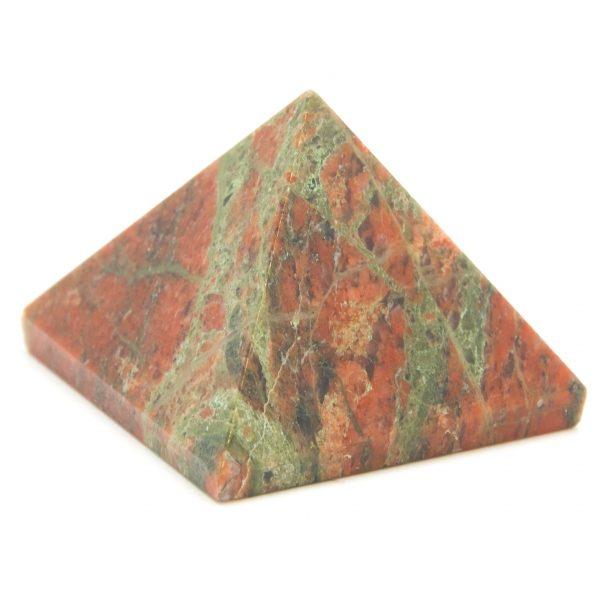 Unakite Pyramid-87975