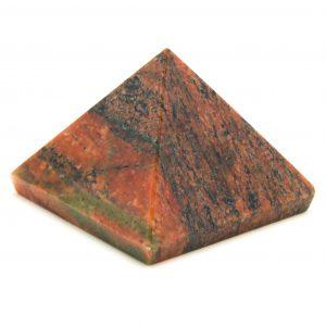 Unakite Pyramid-0