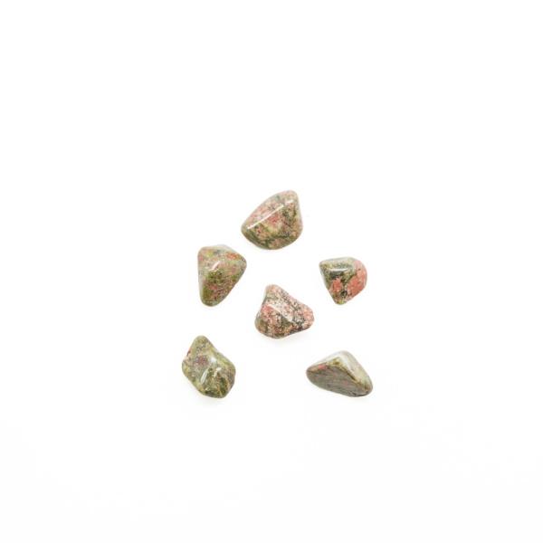 Unakite Tumbled Stone Set (Small)-91326
