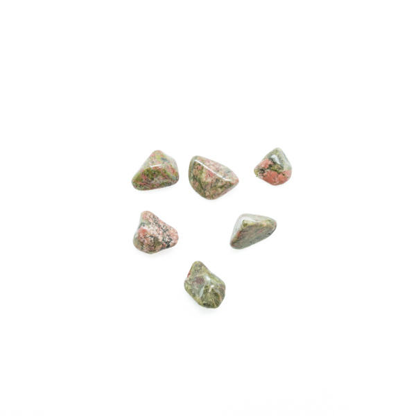 Unakite Tumbled Stone Set (Small)-0