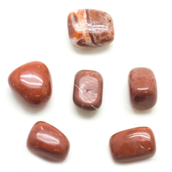 Red Malachite Tumbled Set (Large)-93295