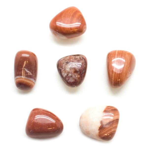 Red Malachite Tumbled Set (Large)-93294