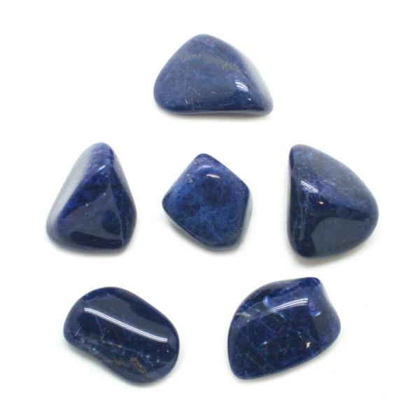 Sodalite Tumbled Stone Set (Large)-145711