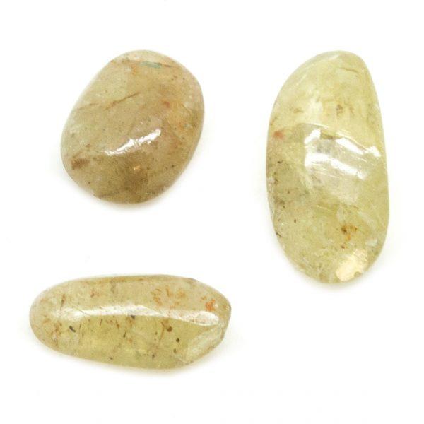 Chatoyant Apatite Tumbled Stone Set (Small)-93667