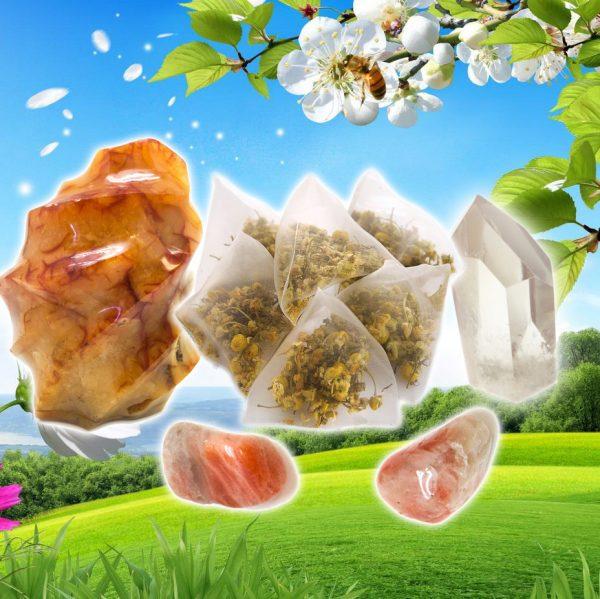 Carnelian, Sunstone, and Quartz Tea for Joy-0