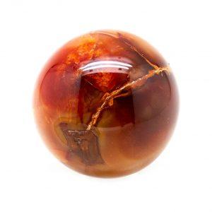 Carnelian Sphere (60-70 mm)-0