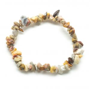Crazy Lace Agate Chip Bracelet-0