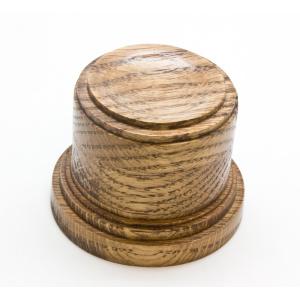 Oak Wood Sphere Stand (Med.)-0