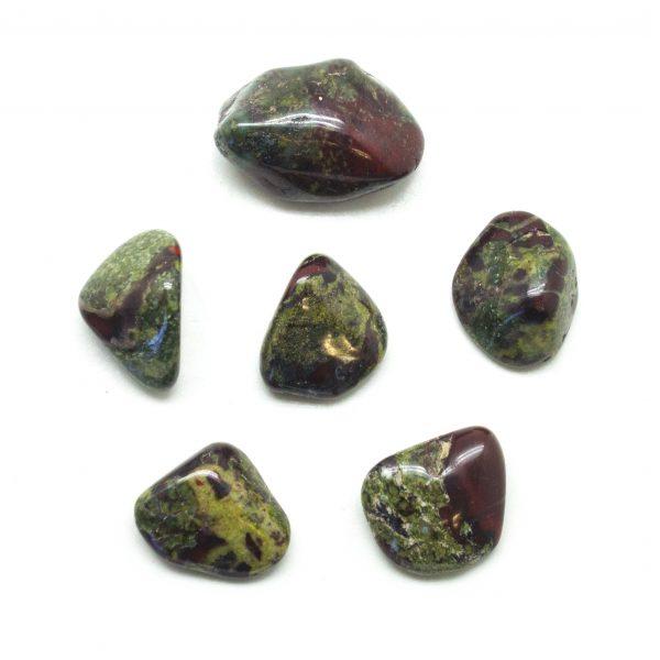 Dragon's Blood Jasper Tumbled Stone Set (Small)-136286