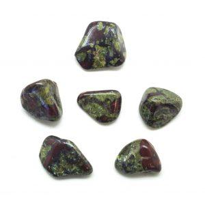 Dragon's Blood Jasper Tumbled Stone Set (Small)-0