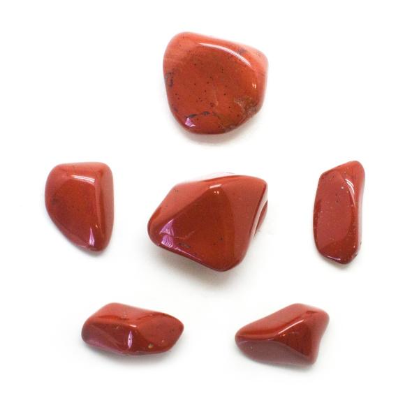 Red Jasper Tumbled Stone Set (Large)-136355