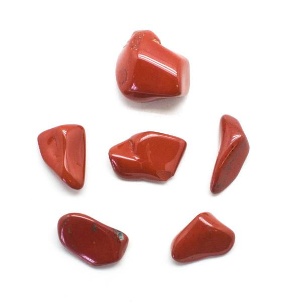 Red Jasper Tumbled Stone Set (Large)-136356