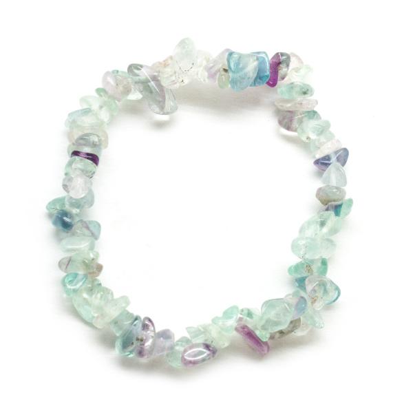 Fluorite Chip Bracelet-119698