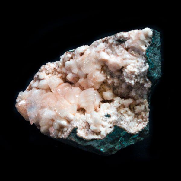 Apophyllite with Stilbite Cluster-115392
