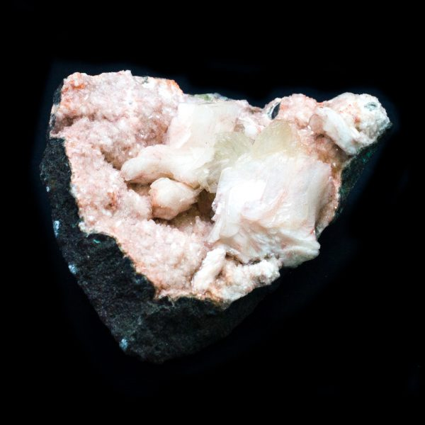 Apophyllite with Stilbite Cluster-115465