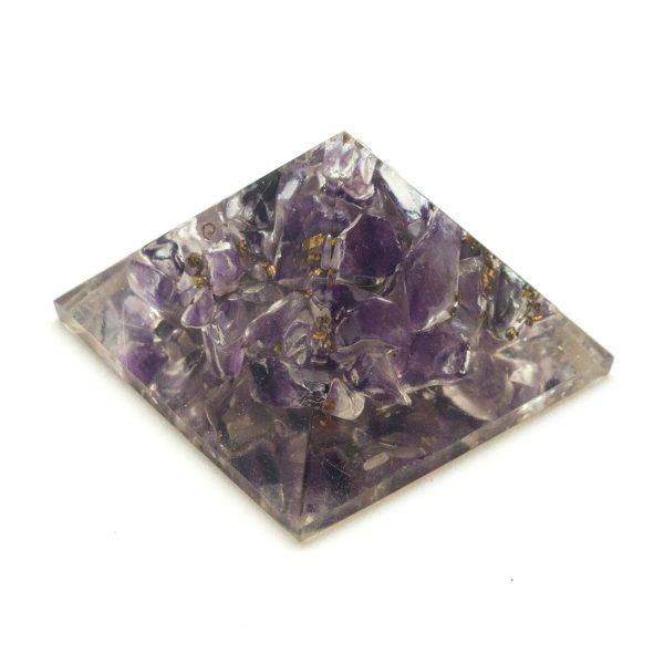 Amethyst Orgonite Pyramid-0