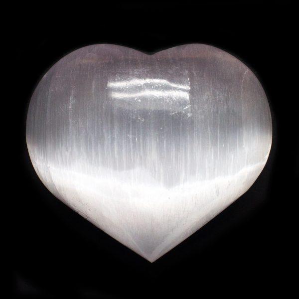 Selenite Heart-0